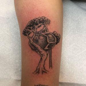 Illustrative tattoo by Jackson Epstein #JacksonEpstein #Jacksontattoos #specialtattoos #uniquetattoos #besttattoos #awesometattoos #tattoodoapp #tattooartist