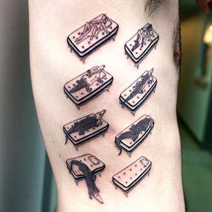 Codex Seraphinianus tattoo by Julian Llouve #JulianLlouve #specialtattoos #uniquetattoos #besttattoos #awesometattoos #tattoodoapp #tattooartist