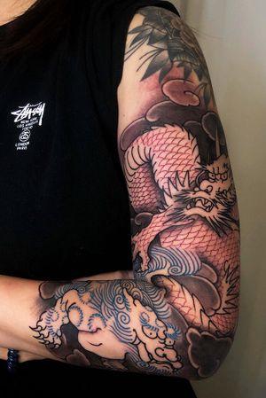 japanese tattoos #tattoodo #japanesetattoo #ssabtattoo #mamaink #koreatattoo