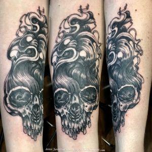 #skulltattoo #skull