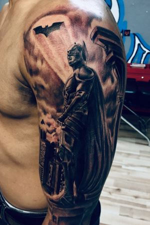 #darknight #tattoo for appointment info text my phone 4197882743