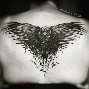 V A L A R  M O R G H U L I S #gameofthrones #gameofthronestattoo #ThreeEyedRaven #raven #valarmorghulis #valardohaeris #marloeslupker