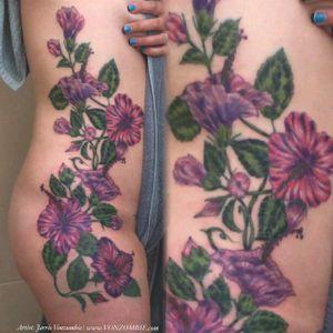 #Hibiscus #flower #flowertattoo