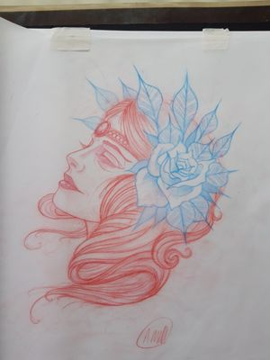 Neotrad lady, very beautiful piece!
