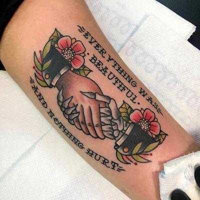 Kurt Vonnegut tattoo by Davey CXC #DaveyCXC #KurtVonnegut #SlaughterhouseFive #booktattoos #literarytattoos #booktattoo #literarytattoo #books #book #reading #literature