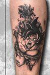 Goku! #dbztattoo #tattoo #dbz #goku