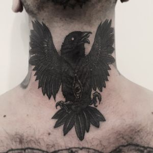 #black Work tattoo