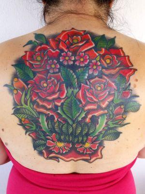#coverup #coveruptattoo #dallastattooartist #skull #rose