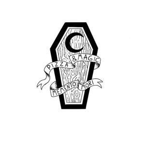 Small coffin #coffin #blackandgreytattoo #inspirationtattoo #magic #pizza #help