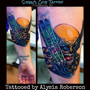 Added #wolverine and #hulk to his #Marvel #sleeve , tattooed by Alysia Roberson at Siren's Cove Tattoo in Piedmont, SC!!! Going to be awesome! he heals up amazing! !! Can't wait to see who he picks out next!! #marveltattoo #xmen #xmentattoo #wolverinetattoo #hulktattoo #comicon #comics #comicbook #comicbooktattoo #StanLee #ripstanlee #greenvillesc #yeahthatgreenville #downtowngreenville #andersonsc #clemsonsc #inkmaster #oldschooltattoo #traditionaltattoo #cartoontattoo #colortattoo #bestink #sctattooist #sctattooer #sctattoo #sctattooartist #sc #sctattooshop #sirenscove #sirenscovetattoo #ladytattooist #ladytattooer #femaletattooartist #alysiarobersontattoo www.facebook.com/sirenscovetattoo www.facebook.com/Alysia.Roberson.Tattoo.Artist