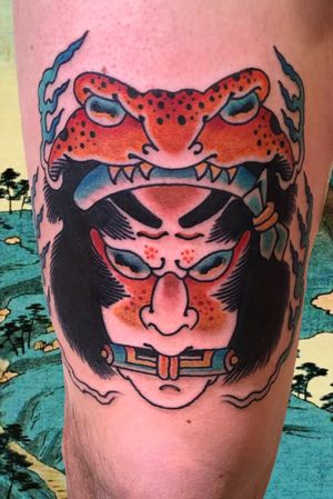 Jiraiya #italianjapanesetattoo #top_class_tattooing #japanart #topttattooing #topclasstattoing #bright_and_bold #americanatattoos #italian_traditional_tattoo #friendship #realtraditional #inked #oriemtaltattoo #tattoo #tattooes #tattooitaly #convention #tattoolife #tattoolifemagazine #inkart #tattooartistmagazine #bologna #tattoobologna #bolognatattoo #horrorvacuitattoo #tatuaggibologna #inkdometattoos #japanesetattoo