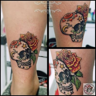 This sugar skull is one of my tiny creations. I want to thanks my dear friend @papette80 who is always helping and supporting me. #lovemyfriends ❤️ 💀💕🌺❤️💀💕🌺❤️💀💕 #tattoo #tatuaje #tatouage #rosetattoo #tattoorose #rosestattoo #tatuajederosas #tatuajerosa #rosastatuaje #tatouagerose #tatouageroses #rose #roses #rosa #rosas #skulltattoo #tatuajecalavera #tatouagecrane #sugarskulltattoo #sugarskulltattoos #tatuajecalaveradeazucar #tatouagecranedesucre #skull #calavera #crane #sugarskull #calaveradeazucar #cranedesucre #tattoodo #tattoolover #tattoolovers #ferneyvoltaire #tattooferneyvoltaire