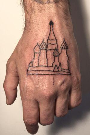 Handpoked kremlin