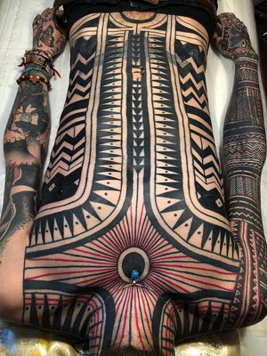Tribal tattoo by haivarasly #Haivarasly #neotribaltattoo #tribaltattoo #tribal #blackwork #illustrative #pattern #shapes