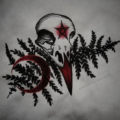 Flash do wzięcia! #trashpolka #trashpolkatattoo #skull #skulltattoo #birdskull #birdskulltattoo #leaf #leaftattoo #leaves #leavestattoo #fern #ferntattoo #moon #moontattoo #dotwork #demon #demonic #grimm #occult #pagan #wicca #flashtattoo #tattoodesign #tattooapprentice #tattooproject #flashtotake #blackink #redink #wolnywzór #wzórtatuażu #projekt #dowzięcia #tattooer #olsztyn #tatuaż #tatuaz #tattoopoland #polandtattoos #tatuazolsztyn #olsztyntattoo #tattooolsztyn