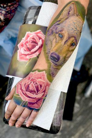 Full color sleeve in progress #intenzepride #tattoounity #miamitattoos #instapic #instatattoo #tattooedgirls #tattooartist # tattoogirl #realistictattoo #tattooideas #artwork #fullcolortattoo #colortattoo #miamitattoos #305tattoos #floridatattoos #nortmiamitattoos