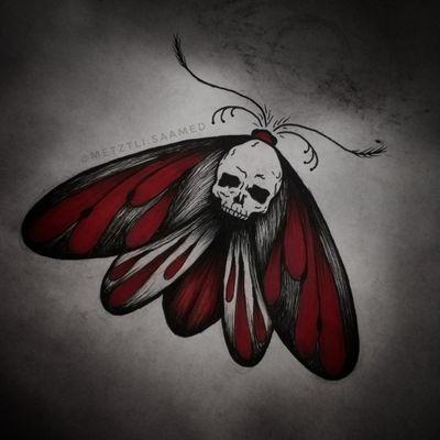 Flash do wzięcia! #trashpolka #trashpolkatattoo #skull #skulltattoo #moth #mothtattoo #demon #demonic #grimm #occult #pagan #wicca #flashtattoo #tattoodesign #tattooapprentice #tattooproject #flashtotake #blackink #redink #wolnywzór #wzórtatuażu #projekt #dowzięcia #tattooer #olsztyn #tatuaż #tatuaz #tattoopoland #polandtattoos #tatuazolsztyn #olsztyntattoo #tattooolsztyn