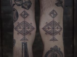 Tribal tattoo by Andrei Vintikov #AndreiVintikov #neotribaltattoo #tribaltattoo #tribal #blackwork #illustrative #pattern #shapes