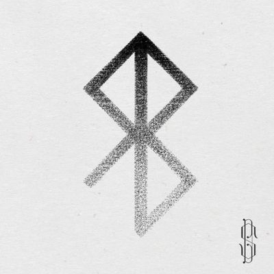 Tattoo design of viking symbol for peace #tattooart #tattoo #symbol #symboltattoos #VikingSymbols #vikingsymboltattoo #dotworktattoo #dotwork #dotworktattoos #BlackworkTattoos #blackwork #peace #peacesymbol #thesteff