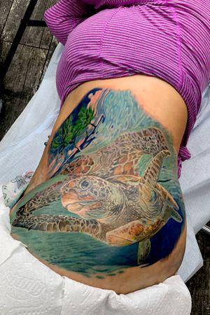Scar cover up #intenzepride #tattoounity #miamitattoos #instapic #instatattoo #coveruptattoo #tattooedgirls #tattooartist # tattoogirl #realistictattoo #tattooideas #artwork #fullcolortattoo #colortattoo #miamitattoos #305tattoos #floridatattoos #nortmiamitattoos
