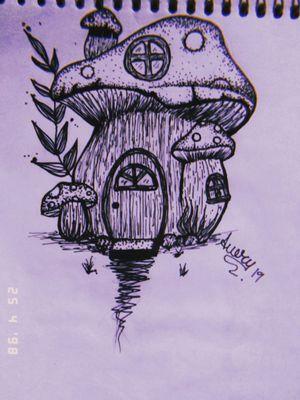 Lar doce lar... Desenho disponível 🎨 👉@aueryarts_tattoo