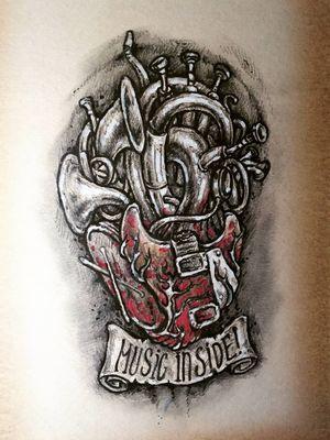 #design #scetch #tattooidea #tattoodesign #music #musictattoo #drawing #art #pencildrawing #pencil #dibujo #dibujolapiz #artist #tattooartist #tatuaje #tattoist
