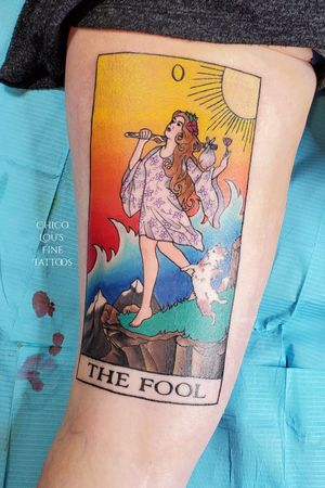 The Fool tarot card mostly healed the shy is fresh