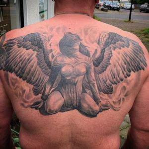 Gestochen in ca. 10 Stunden... Tattoo vollständig abgeheilt