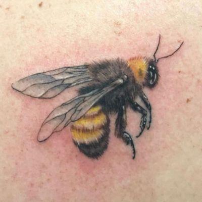 Fuzzy #bee by Joey