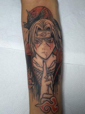 Uchiha Itachi #naruto #itachi #uchiha #tattoo #tatuagem #ink #inked