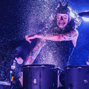 Joe Letz - photo by Viking Photography #JoeLetz #AestheticPerfection #drummer #musician #TattoodoCrew #tattoocommunity
