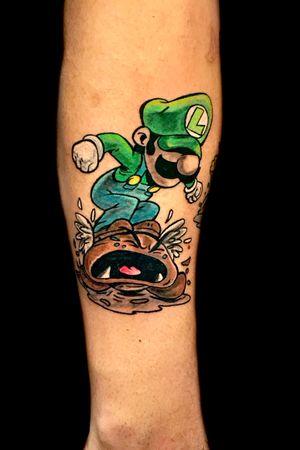 #mario #Luigi #mariobros #worldfamousink #Nintendo #color