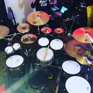 Joe Letz drumkit #JoeLetz #AestheticPerfection #drummer #musician #TattoodoCrew #tattoocommunity