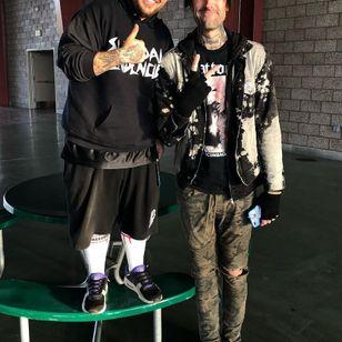 Joe Letz and Ra Diaz of Suicidal Tendencies #JoeLetz #AestheticPerfection #drummer #musician #TattoodoCrew #tattoocommunity #RaDiaz #suicidaltendencies
