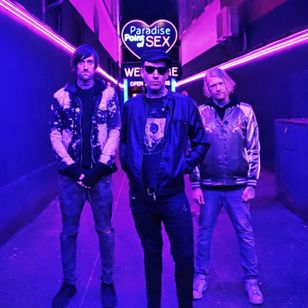 Aesthetic Perfection - Joe Letz, Elliot Berlin, and Daniel Graves #JoeLetz #AestheticPerfection #drummer #musician #TattoodoCrew #tattoocommunity