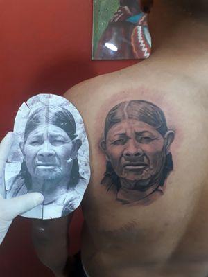 Retrato tattoo