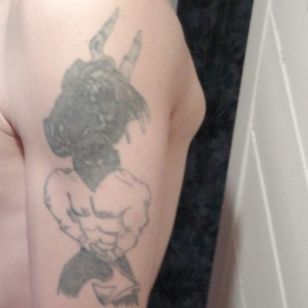 Upper right arm need full cover up