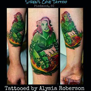Lovvve Batman.... along with Poison Ivy, tattooed by Alysia Roberson  at Siren's Cove Tattoo in Piedmont, SC!!! #poisonivy #batman #dccomics #dccomicstattoo  #poisonivytattoo #batmantattoo #tattooedwomen #tattooedwoman #pinupgirltattoo #pinup #pinupgirl #oldschoolpinup #classicpinup #comics #tattoos  #ivy #ivytattoo  #greenvillesc #andersonsc #clemsonsc #inkmaster #femaletattooartist  #ink #inked #inkedup #inkedgirls #inkedgirl #sc #sctattooartist #cartoontattoo #sctattooer #sctattooist #sctattoo #comicbooktattoos #comicbooks #comicbook   #ComicBookTattoo  #andersonsc #clemsonsc #greenvillesc #downtowngreenville #yeahthatgreenville #sctattooshop #southcarolinatattooartist #sirenscove #siren #sirenscovetattoo #comicon www.facebook.com/Alysia.Roberson.Tattoo.Artist www.facebook.com/sirenscovetattoo Instagram: @sirens_cove_tattoo