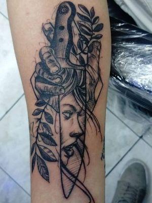 Cuchillo mujer black