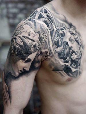 #statuetattoo #koreatattoo #ssabtattoo #tattoodo