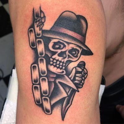 Chicano tattoo by Jason Ochoa #JasonOchoa #Chicanotattoos #chicanotattoo #chicanx #chicano #chicana #CincodeMayo #Mexican #Mexico #tattooinspiration #besttattoos