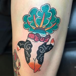 Cool tattoo by Horiinu #Horiinu #cooltattoos #cooltattoo #besttattoo #tattoodoapp #tattooartists #tattooideas #tattooart