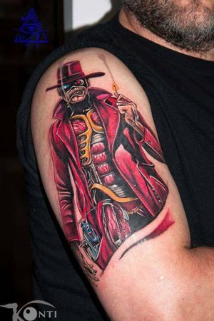 Eddie #alexkonti #tattoosketch #watercolor #watercolortattoo #gdansk #gdynia #gdańsk #sopot #trojmiasto #tatuaz #tattoo