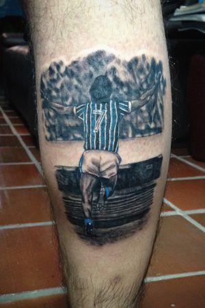 Renato portaluppi #gremiotattoo #gremio #realistic #realism #renatogaucho #blackandgray #blackandgrey #tattoo