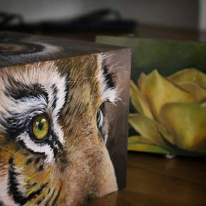 Two wooden boxen i have painted recently, happy with how they turned out, hope you guys like it! Boxes are for sale, if you want to have this custom painted boxes PM me ✉️✉️ #inkaddicts #besttatoos #besttattooartist #artist #bleftattoo #artlovers #tattoo #realistic #inkedmag #fineart #animalartistry #tattoolove #tiger #tigerart #tigertattoo #painting #acrylic #acrylicart #travellingartist #travellingtattooartist #travellingartist #crafts #inkaddicts #tattoocommunity #art #painter #nature #artistsoninstagram