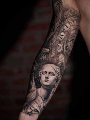 Healed arm sleeve.