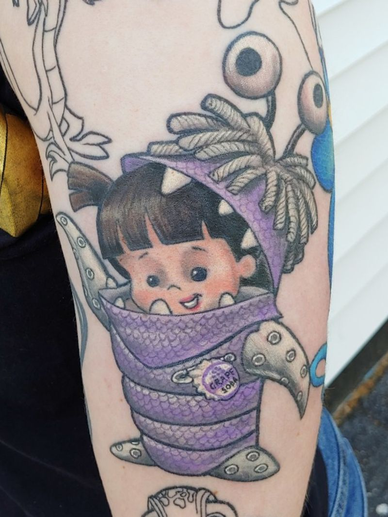 Tattoo from Veronica Hahn