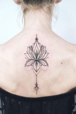 #crushonline #linework #lotus #ornamental #lotusflower #fineline