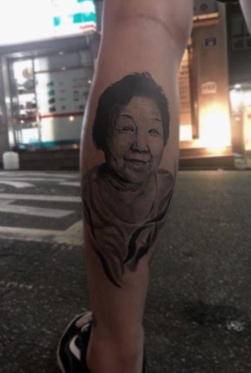 Healed tattoo 3years