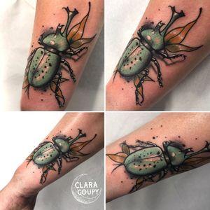 #beetle #beetletattoo #neotraditionaltattoo #neotrad #neotraditionalartist #neotraditionalfrance #neotradeu #neotraditionaltattooers #hearttattoo